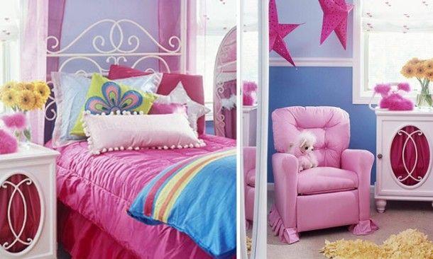 9hollivyd1 10 kolorowych pomysłów na tematyczny pokój dla dwóch dziewczynek