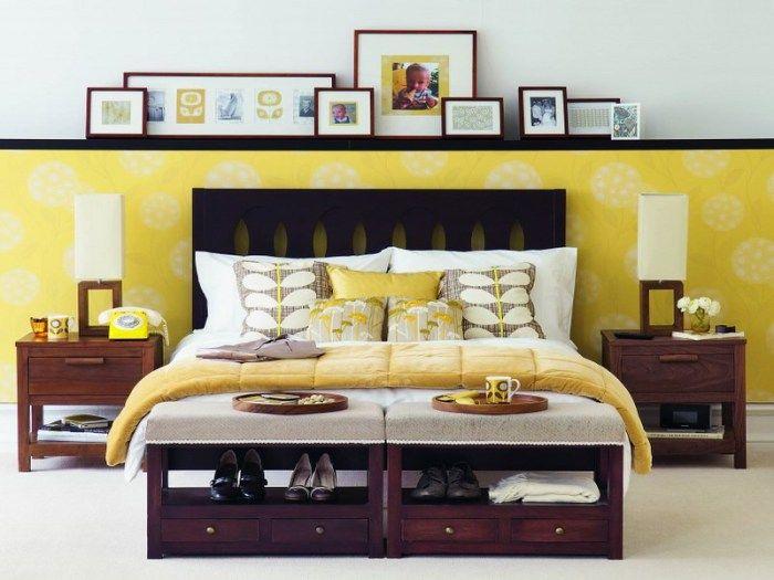 Połączenie koloru żółtego i fioletowego jest korzystne dla wszystkich.