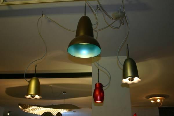 Красиви цветни лампи от Belux