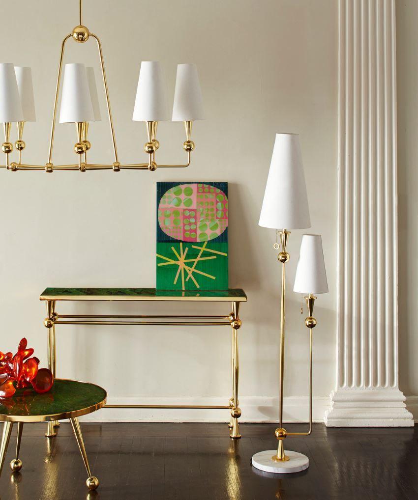 Восхитительный напольный светильник от Jonathan Adler