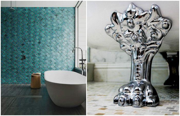 Соблюдения несложных правил сделает дизайн ванной идеальным.
