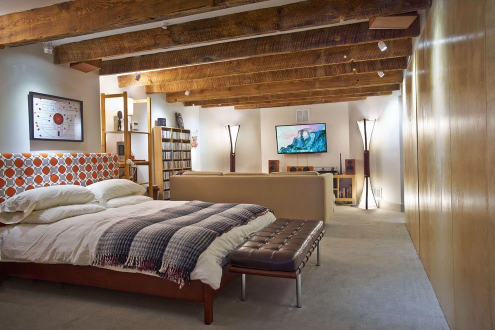 Осветительные приборы в интерьере спальни