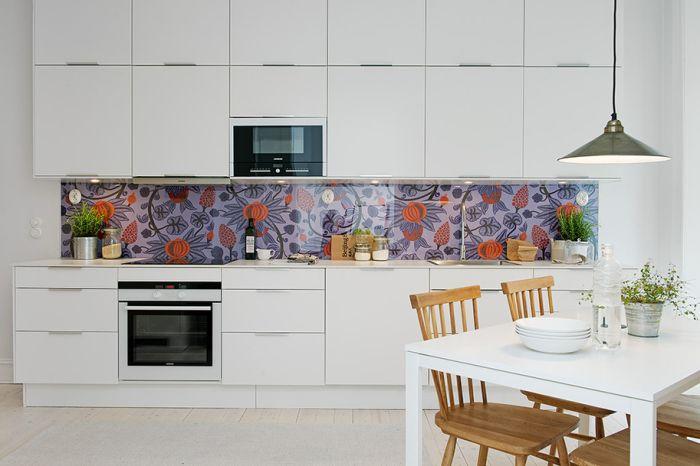 Фасадата на кухнята става акцент в кухненския интериор.