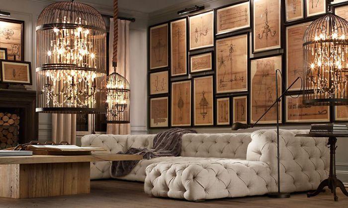 Wyrafinowany system oświetlenia tworzy romantyczną oprawę.