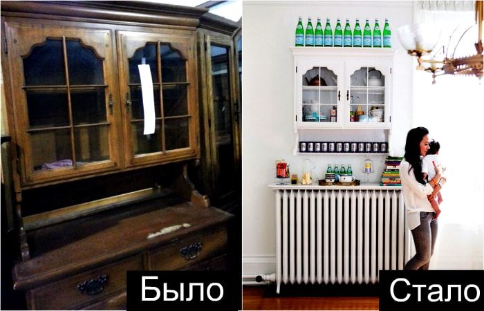 Фантастични идеи за тотална трансформация на стари мебели.