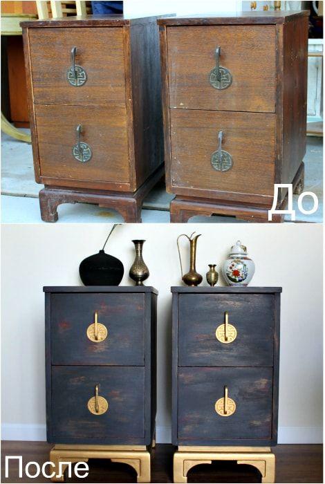 Два нови шкафа от старите.
