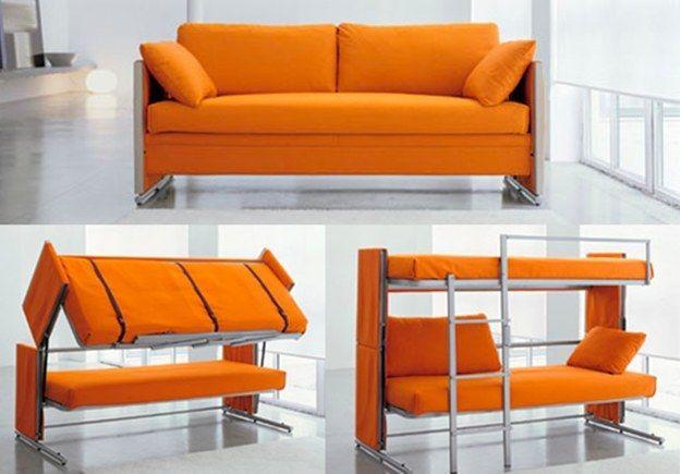 Fantastisk transformerende sofa