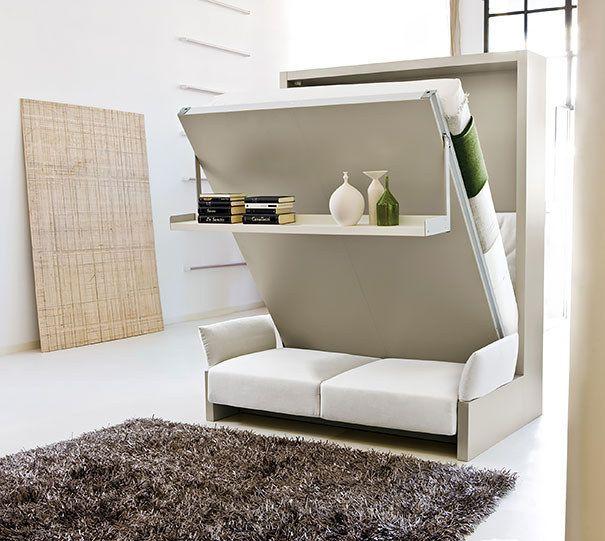 Бесподобная кровать-диван с полкой