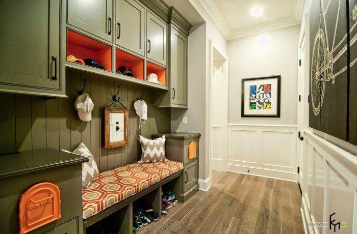 Удобен и обмислен интериорен дизайн на коридора.