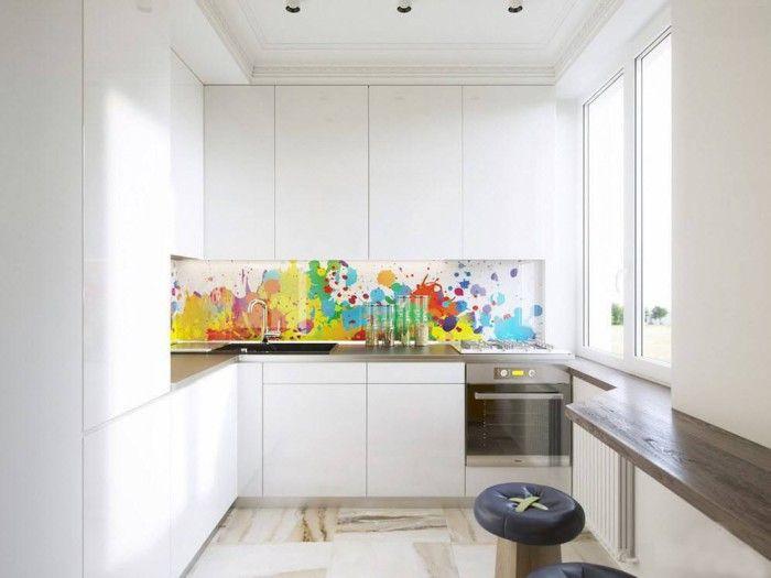 Минималистичната кухня е най-лесна за поддържане на чистота.