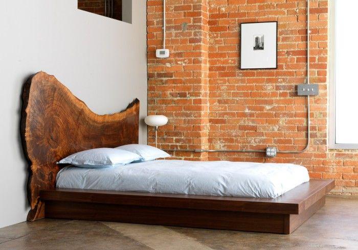 Лаконично място за спане оптимизира интериора.