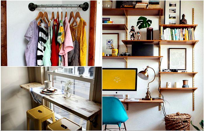 Стилни и полезни идеи за подреждане на малки пространства
