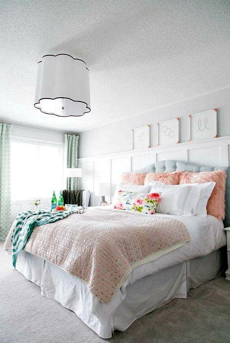 Ładna sypialnia dla dziewczynki.