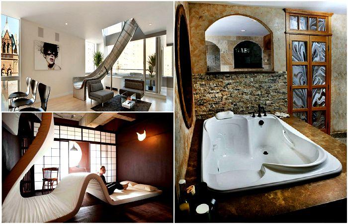Невероятные вещи и дизайнерские решения, которые превратят жилье в дом мечты.