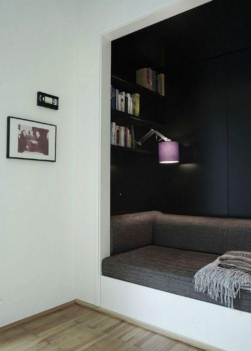Уголок для отдыха в современном стиле.