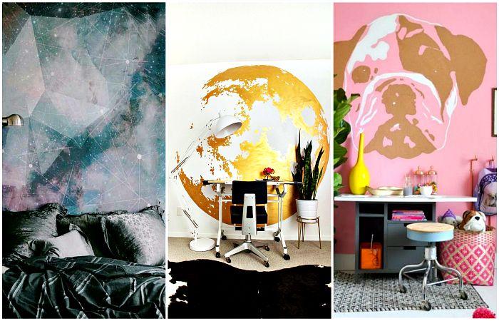 Потрясающие идеи декора стен, которые помогут освежить наскучивший интерьер.
