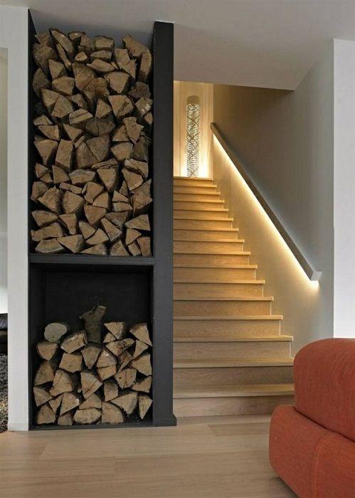 Opcja lekkiego i dyskretnego oświetlenia klatki schodowej.