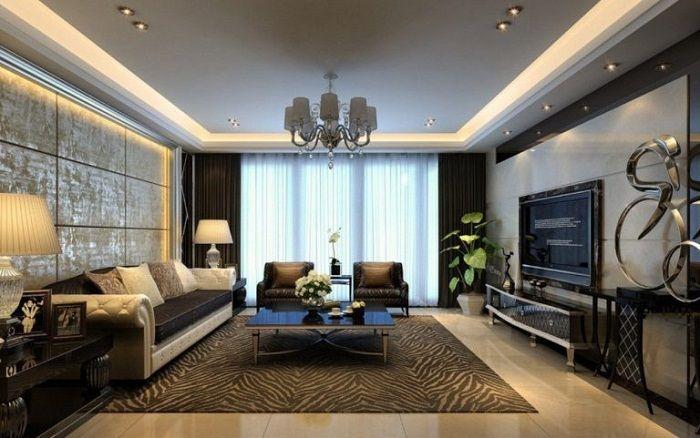 Лучший вариант облагородить светлую обстановку - добавить размеренного и мягкого освещения.