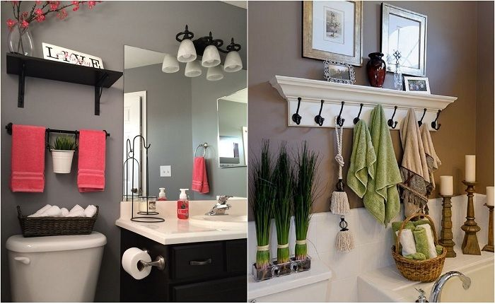 Идеи для оформления ванной комнаты.