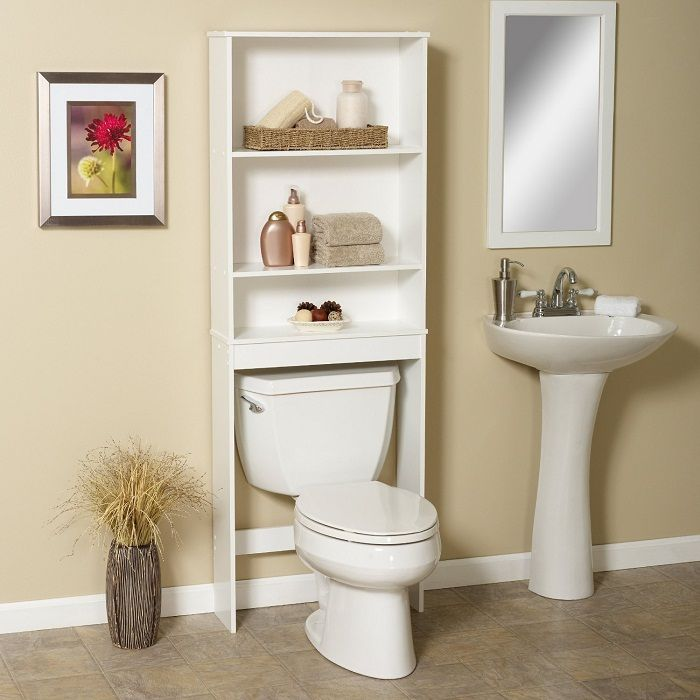 Пример оформления интерьера ванной комнаты.