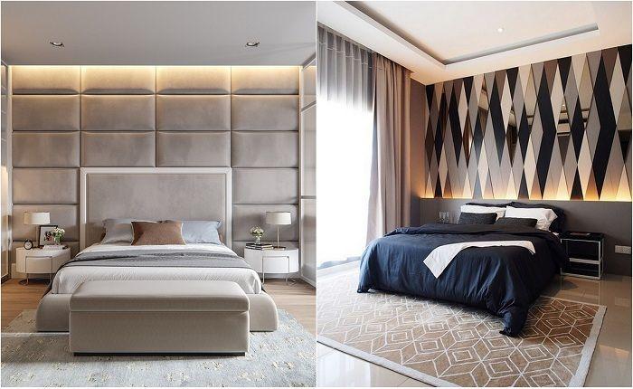 Примери за декорация на стени в спалнята.