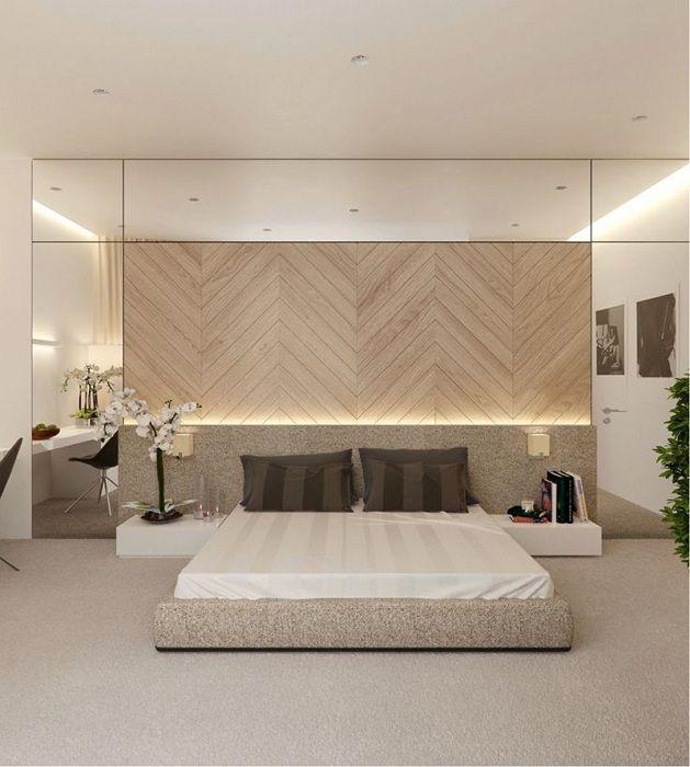 Успешен дизайн на спалня с оригинално осветление, което ще създаде комфорт и уют.