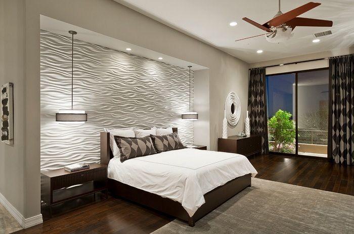 Най-доброто практично решение е да създадете лек интериор и да украсите стената по необичаен начин.