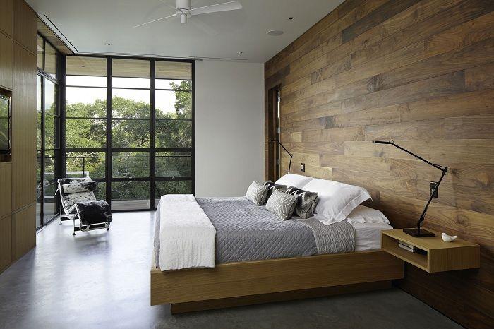 Един от най-добрите варианти е декорът на спалнята в съвременните тенденции.