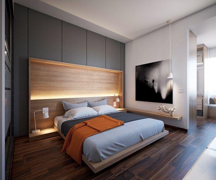 Чудесен вариант за създаване на изключителен интериор в спалнята.