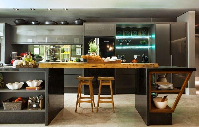 Креативные решения в интерьере кухни.
