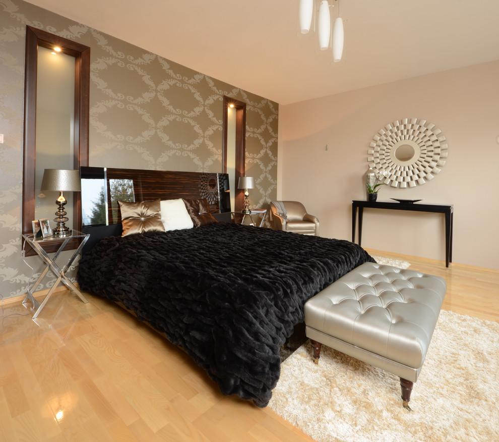 Как оформить мужскую спальню в стиле хай-тек