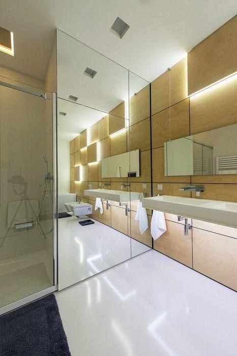 Многое зависит от правильного освещения в ванной комнате, именно это позволит создать особенный интерьер.