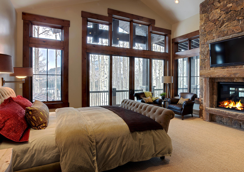 Как оформить мужскую спальню в традиционном стиле