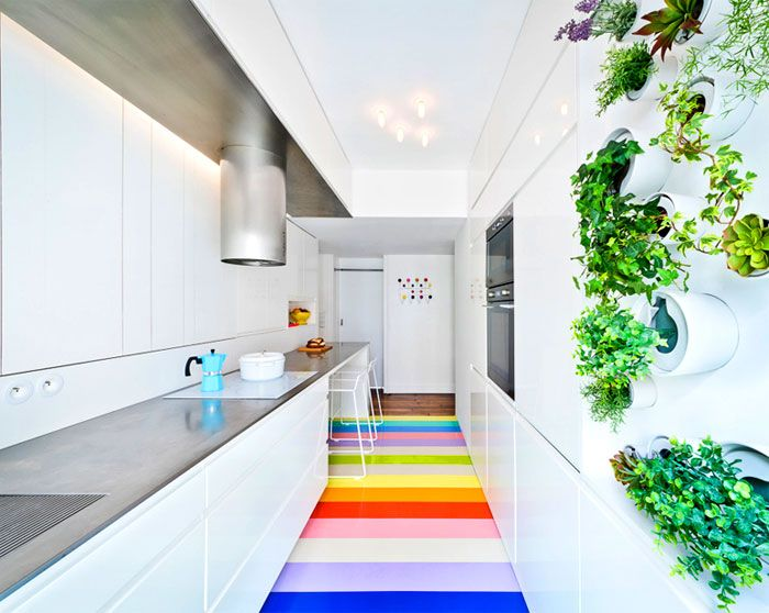 Бяла кухня SABO студио.