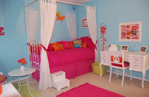 8v_skazke1 10 kolorowych pomysłów na tematyczny pokój dla dwóch dziewczynek