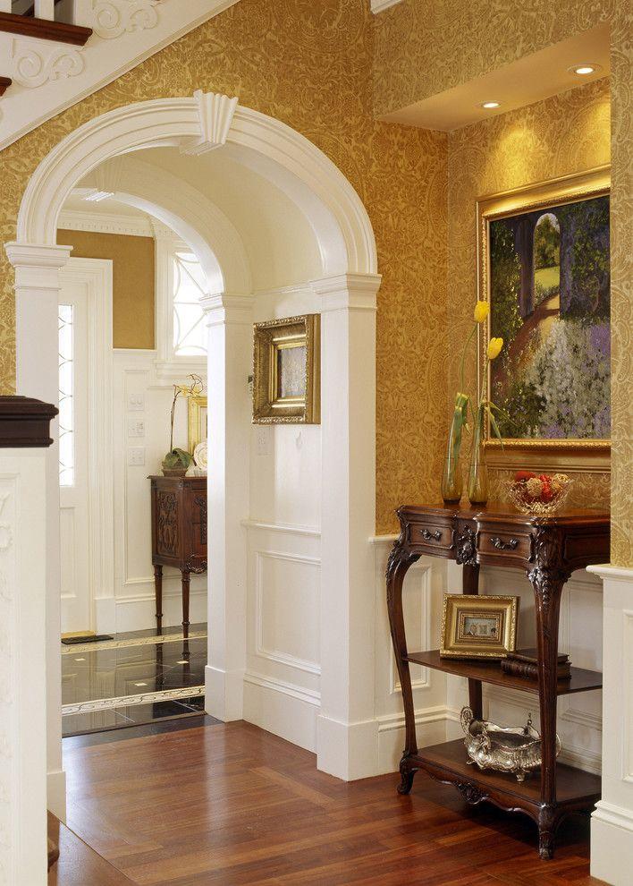 Kaaret talon tai huoneiston sisätiloissa