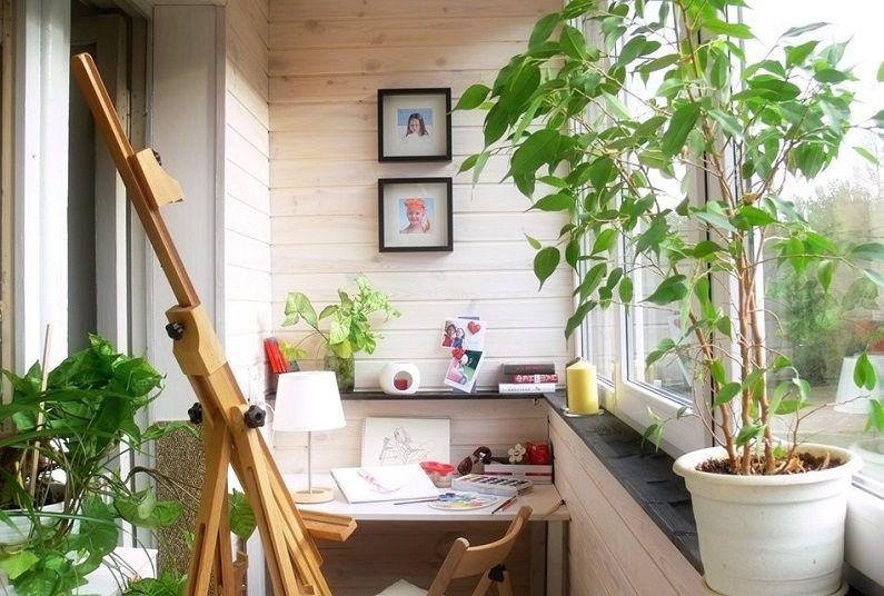 Как да използвате балкон в детска стая
