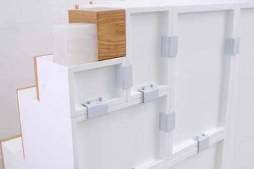 Крепления модульного шкафа