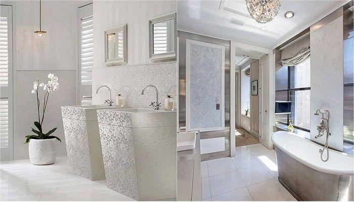 Förvandla ditt badrum med ljusa nyanser.