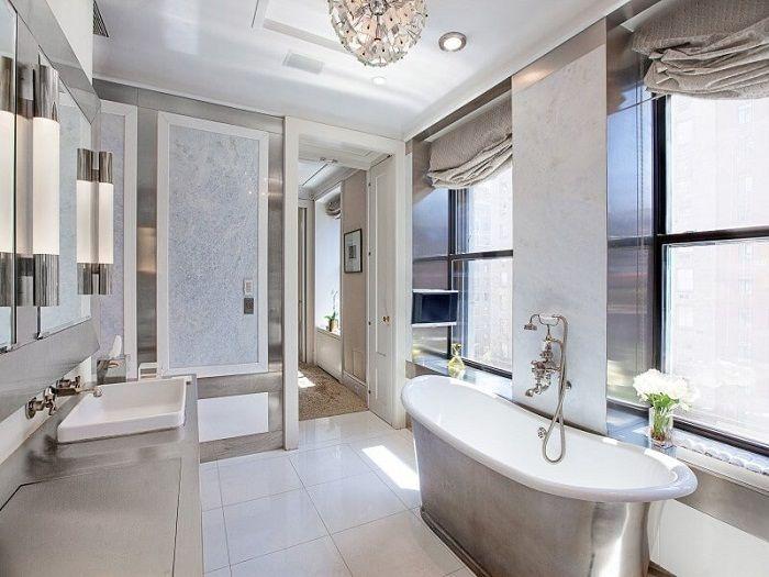 En original modernt badrumsinredning som kommer att glädja dig och kommer att kvalitativt förändra atmosfären.