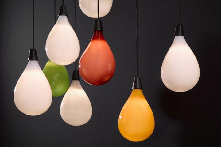 Креативный светильник: воздушные шарики от Maarten Baas