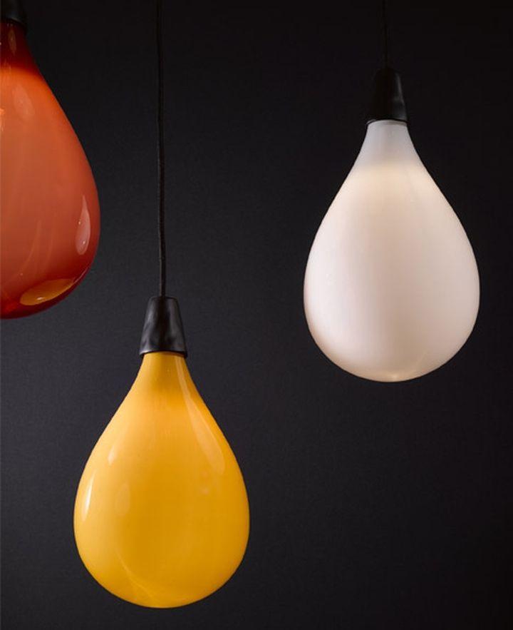 Удивительные подвесные светильники из коллекции Das Pop от Маартена Бааса