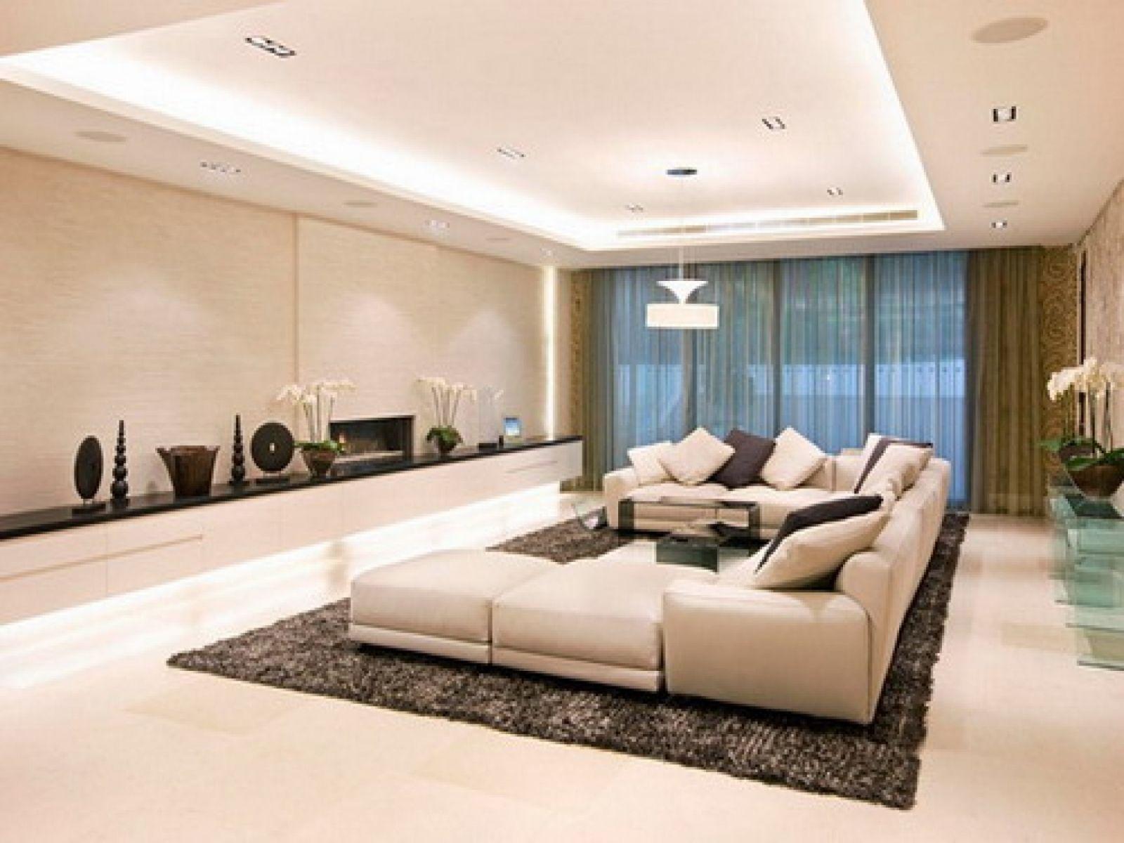 Светильники для просторной гостиной