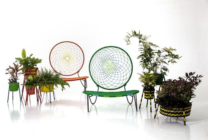 Яркая коллекция дачной уличной мебели - Фото 3