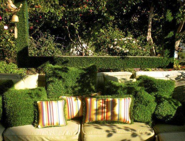 Зашеметяващи градински предмети от мъх