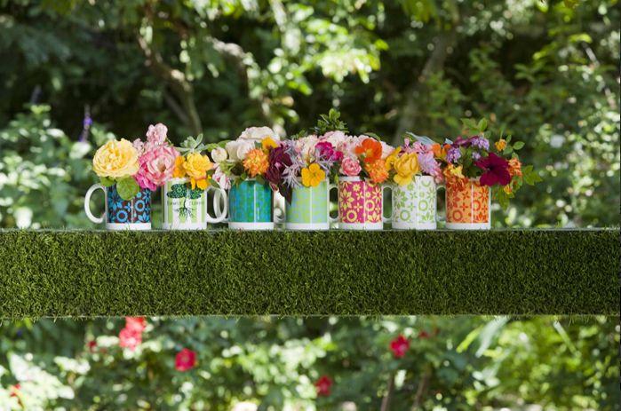 Уникално покритие на градински предмети от мъх