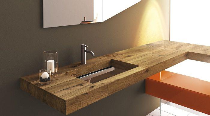 Симпатичный интерьер ванной комнаты, что станет отменным решением для интерьера.