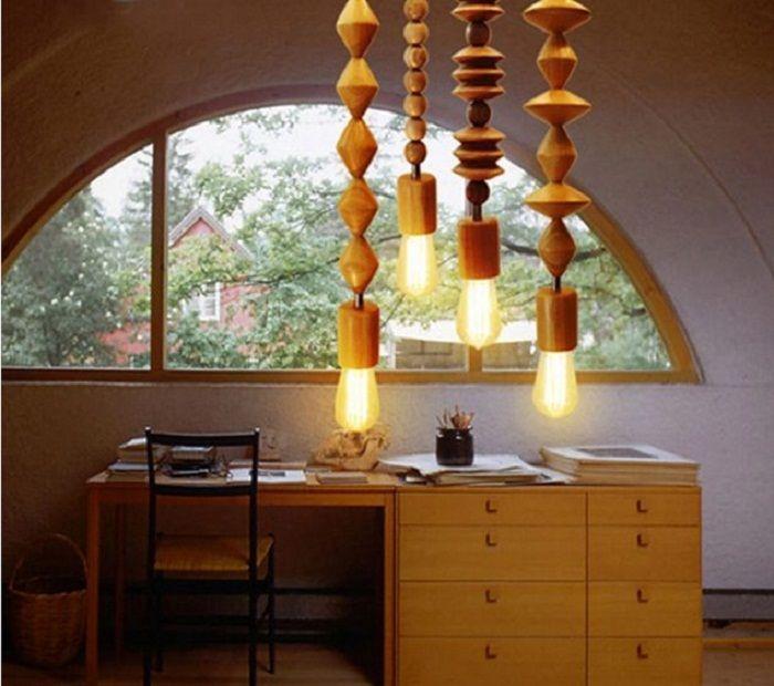 Интересно решение за създаване на такива сладки лампи, които ще вдъхнат нов живот в дизайна на стаята.