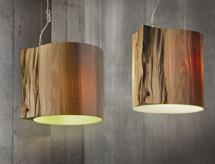 Интересное решение для интерьера, создать такие оригинальные лампы для дома.