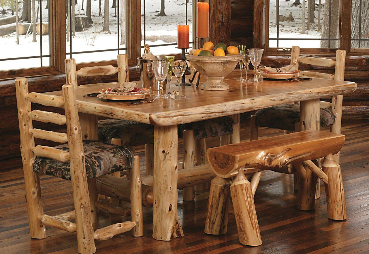 Деревянная мебель для загородного дома